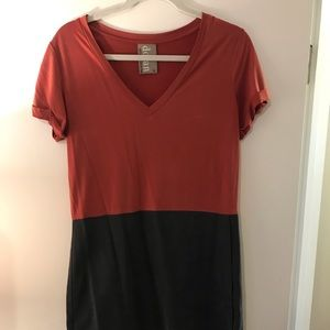 Casual to dressy t-shirt dress